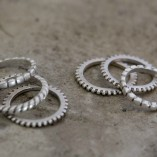 Tutti & Co Set of 6 Rings