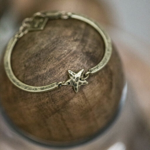 Tutti & Co Gold Star Connector Bracelet available at Birdhouse Jewellery