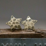 Tutti & Co Gold Star Stud Earrings available at Birdhouse Jewellery