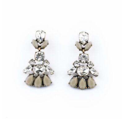 Rock & Rye Geneva Statement Earrings
