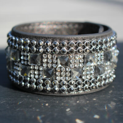 Hot Tomato Grey Duchess Cuff