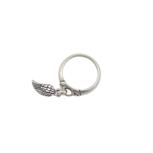 42f095d9a Danon Silver Angel Wing Ring