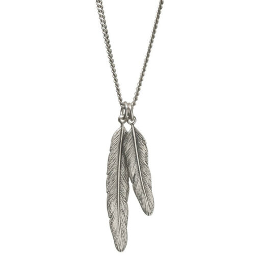 Danon-double-feather-necklace-at-Birdhouse-Jewellery