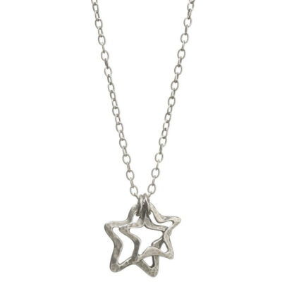 Danon-double-open-star-necklace-at-Birdhouse-Jewellery