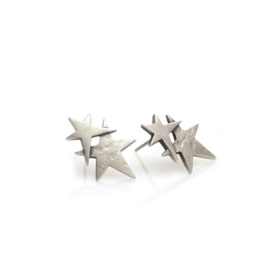 Danon-double-star-stud-earrings-at-Birdhouse-Jewellery
