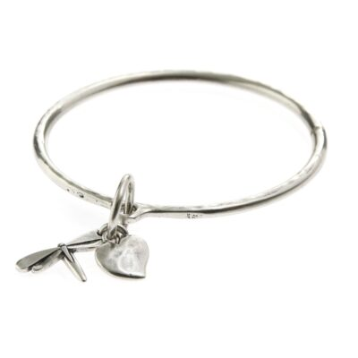 Danon-dragonfly-and-heart-bangle-at-Birdhouse-Jewellery