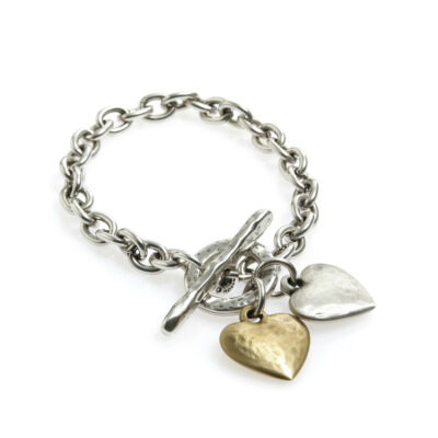Danon-hammered-heart-tbar-bracelet-at-Birdhouse-Jewellery