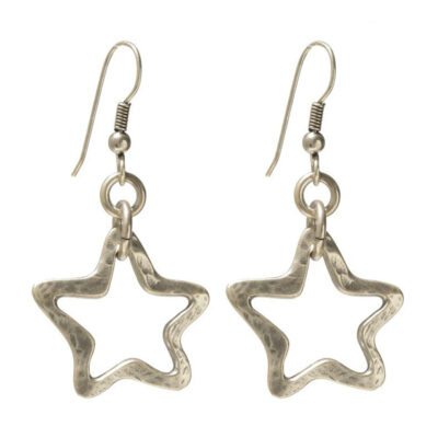 Danon-star-outline-drop-earrings-at-Birdhouse-Jewellery