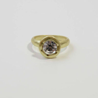 Junction 83 Gold Crystal Ring