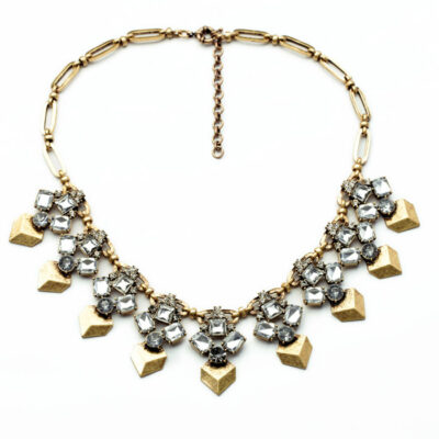 Rock & Rye Casino Statement Choker Necklace