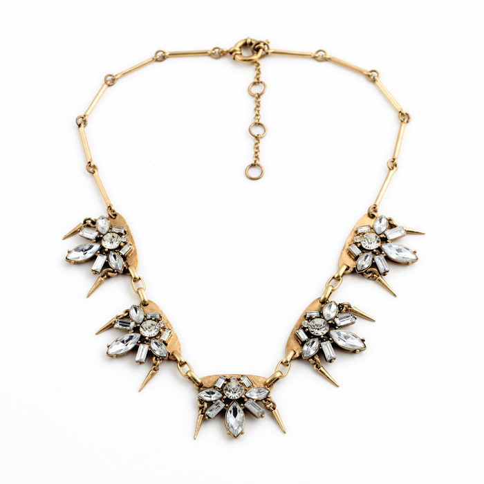 Rock & Rye Southside Fizz Statement Necklace
