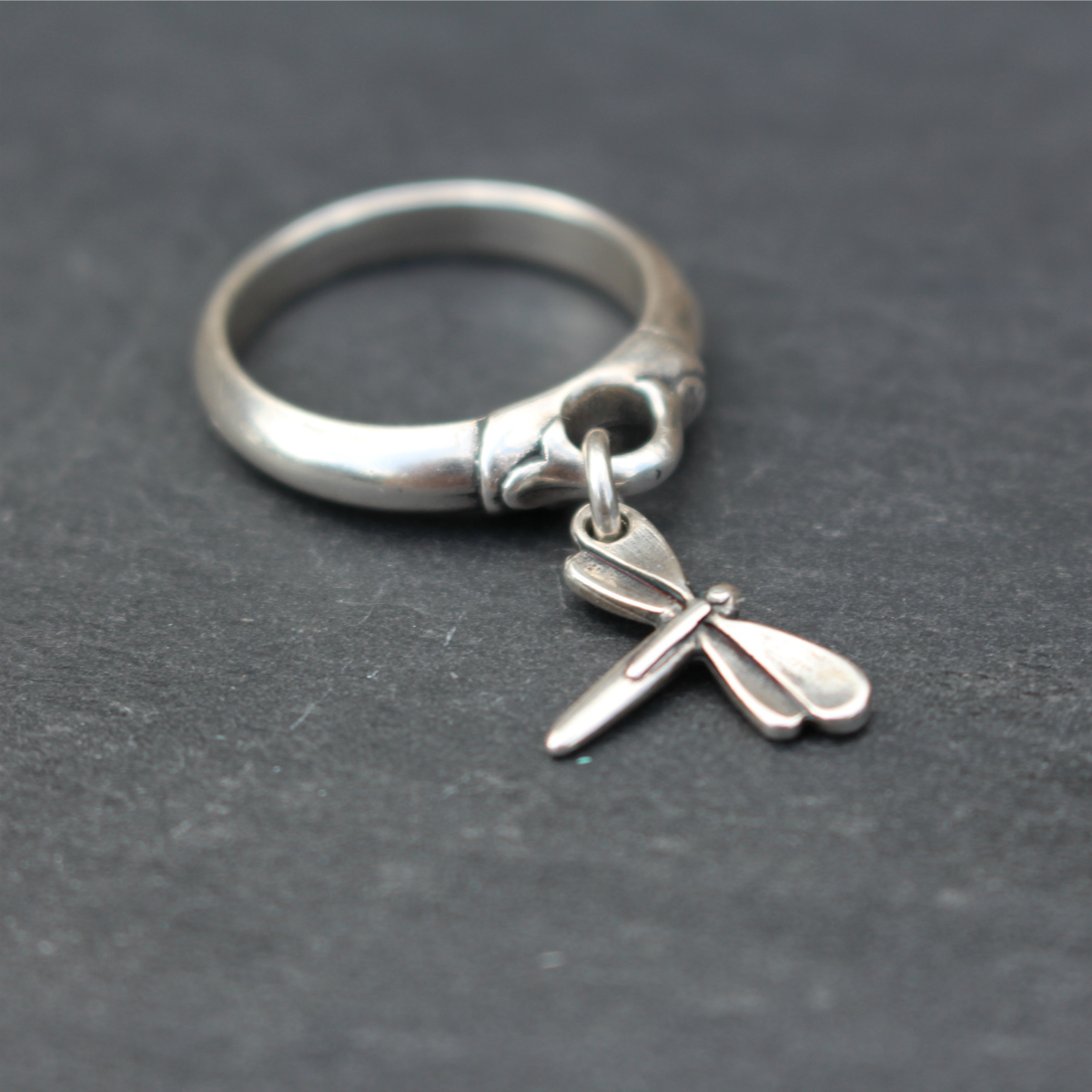 Danon Jewellery Dragonfly Charm Ring