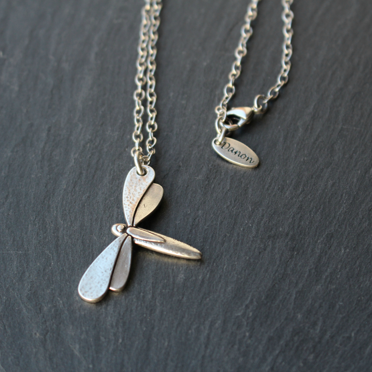 Danon Jewellery Dragonfly Long Chain Necklace