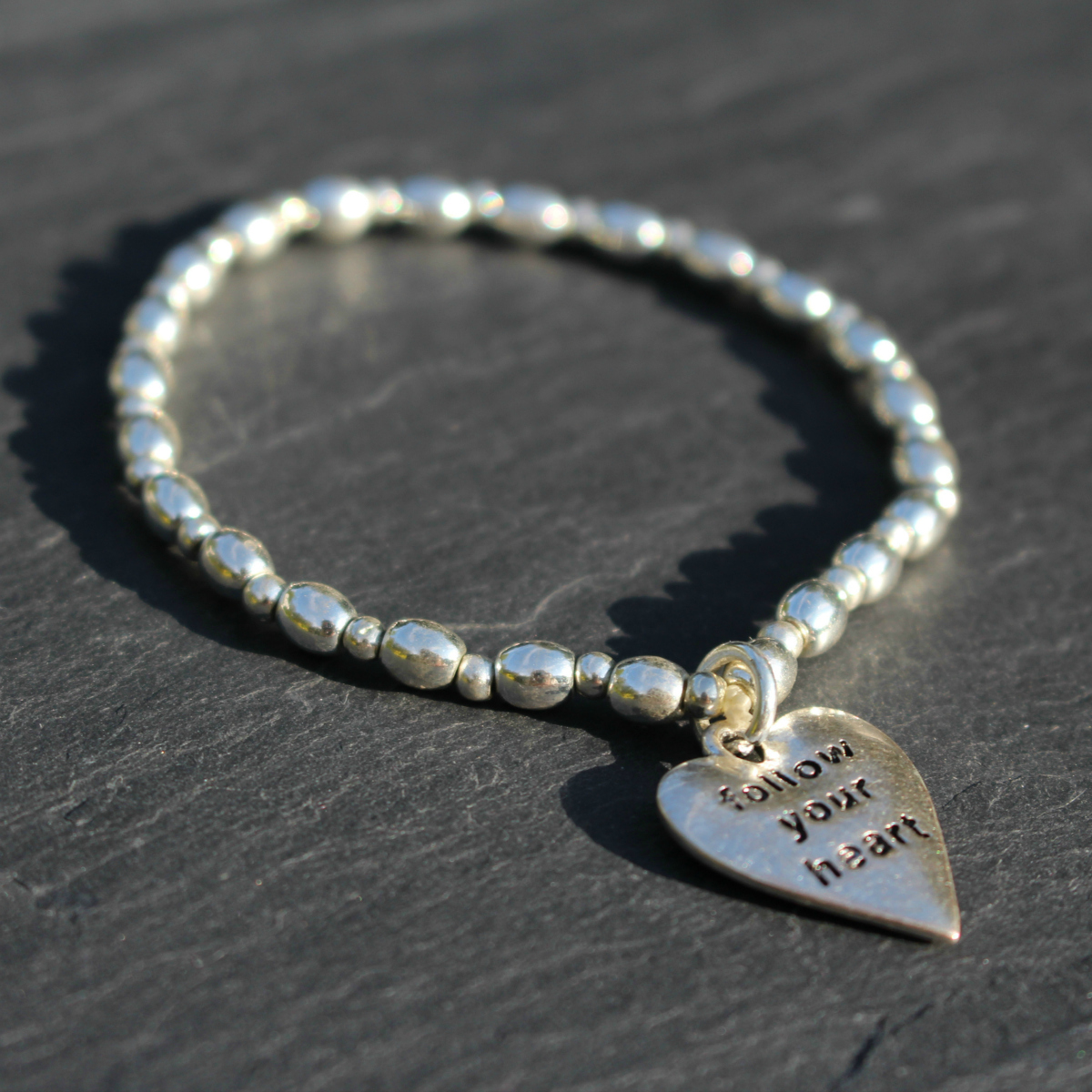 Hot Tomato Follow Your Heart Bracelet