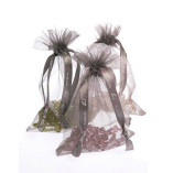Hot Tomato Organza Bag