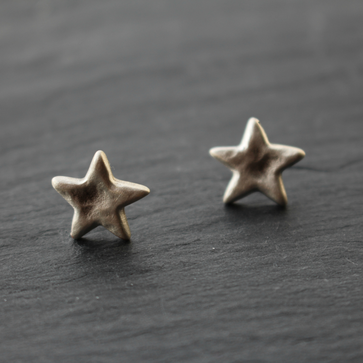 birdhouse jewellery danon dainty star stud earrings