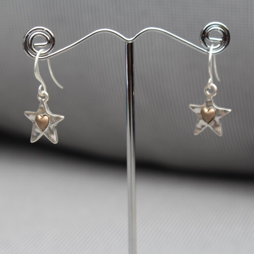 Birdhouse Jewellery Junction 83 Starheart earrings