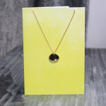 Orelia Star Disc Pendant Necklace Gift Card
